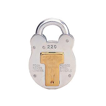 Henry Squire 220 Old English Padlock with Steel Case 38mm HSQ220