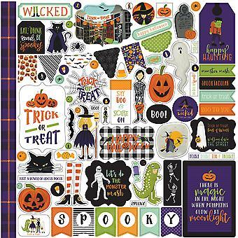 Echo Park Hocus Pocus 12x12 Inch Element Sticker