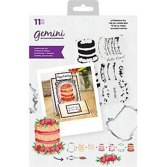 Gemini Afternoon Tea Stamp & Die
