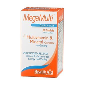 Megamulti ja Ginseng 30 tablettia