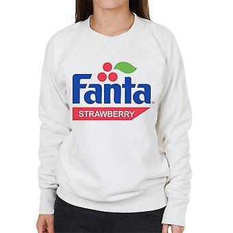 Fanta Strawberry retro 1980 logo kvinnors Sweatshirt