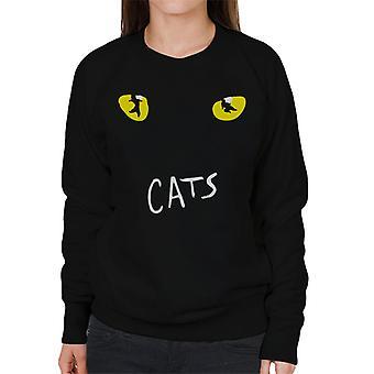 Cats Musical Logo Women's Sweatshirt