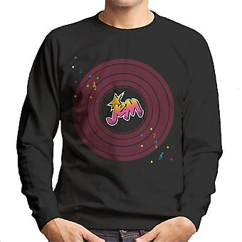 Jem And The Holograms Musical Clef Note Men's Sweatshirt
