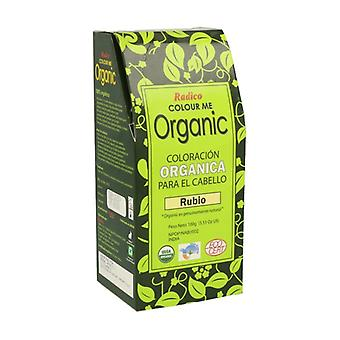 Color Me Organic Rubio Bio 100 g of powder (Golden Blonde)