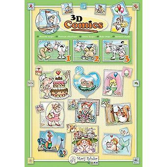 Marij Rahder 3D Comics A4 Book