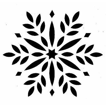 IndigoBlu Flower Mandala 6x6 Inch Stencil