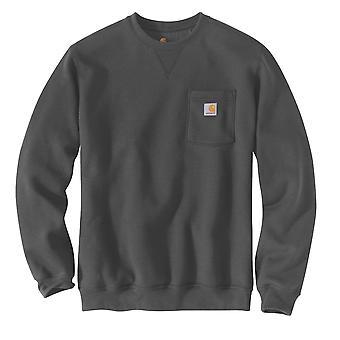 Carhartt camiseta de hombre Crewneck Pocket
