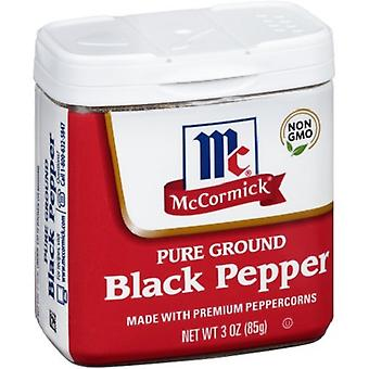 McCormick Pure Ground Black Pepper 3 oz