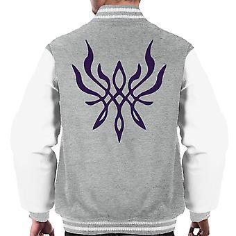 Wappen der Flamme Feuer Emblem Wandteppich Men's Varsity Jacke