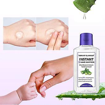 Hand Sanitizer Gel - Moisturizing Aloe Extract Deep Cleansing Nourish No Washing