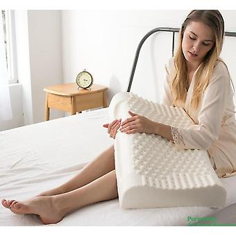 Thailand Pure Natural Latex Neck Protect Vertebrae Health Care Orthopedic Pillow