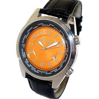 HEINRICHSSOHN Gdansk Orange HS1003O heren horloge
