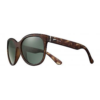 Sunglasses Women's Cat.3 matte brown/green (JSL11090517)
