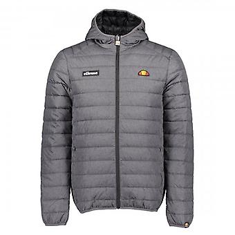 Ellesse Lombardy Quilted Dark Grey Hooded Puffer Jacket