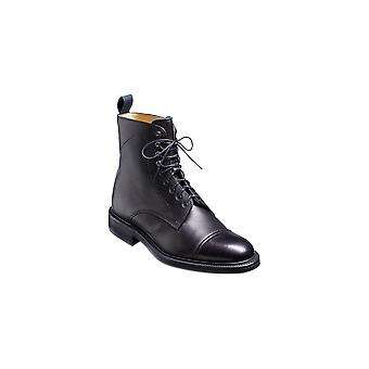 Barker Donegal - Schwarzes Korn | Herren handgefertigte Lederstiefel | Barker Schuhe
