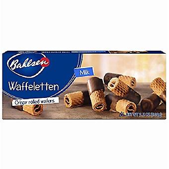 Bahlsen Milk Waffeletten Crispy Rolled Wafers