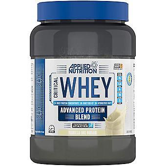 Nutrition appliquée Whey critique 900 gr