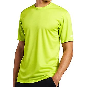 Asics Männer Ready Set Kurzarm T-Shirt Lime XS