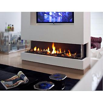 Stainless Steel Bio Ethanol Fireplace Burner Flame
