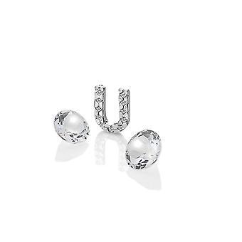 Diamantes calientes Anais Anais Plata de ley U Encanto AC089