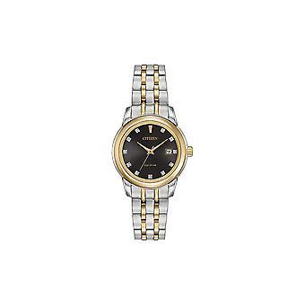 Citizen Ladies E-Drive 11 Diamonds WR100 DC Watch EW2394-59E