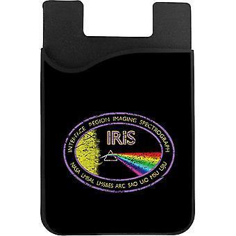 NASA IRIS Mission Logo Ahdistunut puhelinkortin haltija