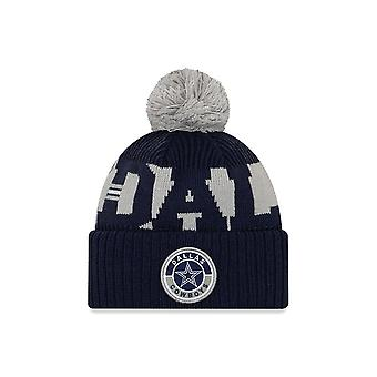 New Era Nfl Dallas Cowboys Official 2020 Sideline Home Sport Beanie Knit