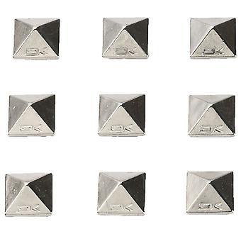 Dakine Pyramide Studs - Chrome