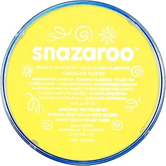 Snazaroo Hallowen Fancy Dress Accessories - Classic Colours Water Based Face & Body Paint - Pale Yellow 18ml