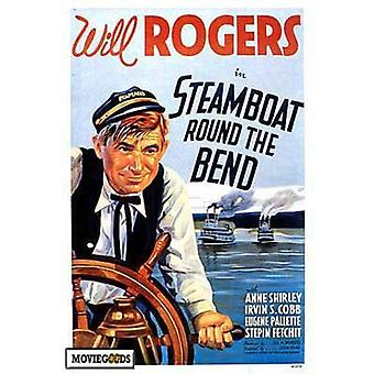 Steamboat Round the Bend Movie Poster Print (27 x 40)