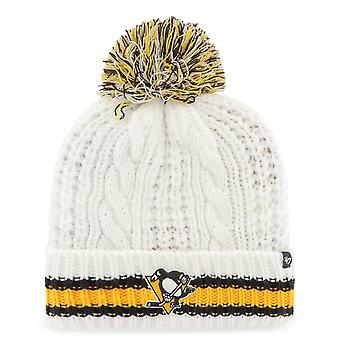 47 Brand Beanie Women's Winter Hat CABLE Pittsburgh Penguins