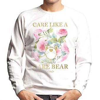 Care Bears Care Like A Care Bear Men's Sweatshirt