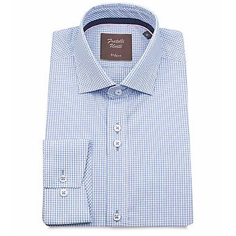 Fratelli Uniti Gingham Check Pure Cotton Men's Shirt