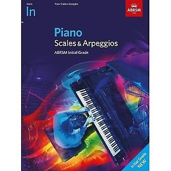Piano Scales & Arpeggios, ABRSM Initial Grade: from 2021 (ABRSM Scales & Arpeggios)