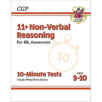 Nye 11 + GL 10-minutters tests: ikke-verbal ræsonnement-aldre 9-10 (med online udgave)