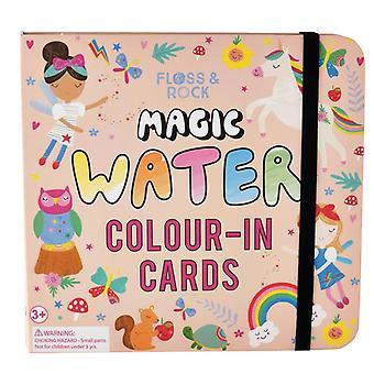 Barnens magiska färgskiftande vattenkort