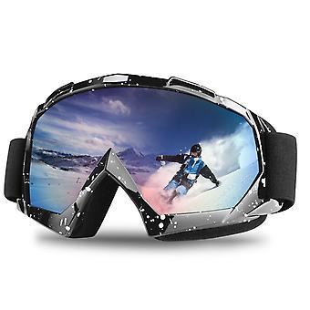 משקפי סקי /נשים בשכבות כפולות