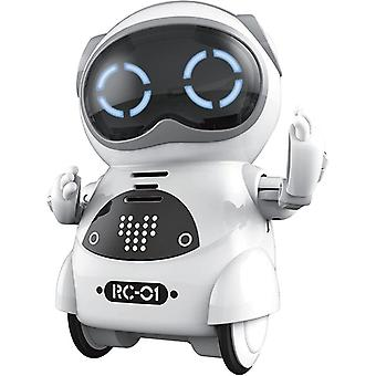 Mini Rc Pocket Robot With Interactive Dialogue Conversation, Voice Recognition,