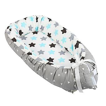 Newborn Baby Bed/portable Nest Bed/infant Toddler Cotton Cradle