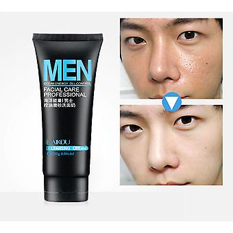 Men Deep Cleansing Oil Control Face Scrub Skin Care Cleanser - Blackhead Acnee
