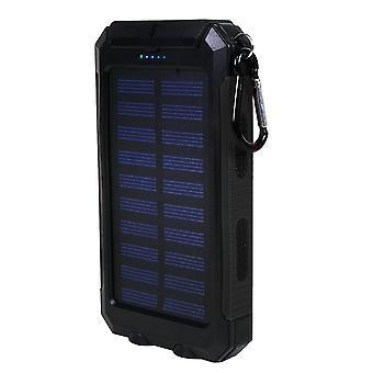 Powerbank, Solar Cells - Black