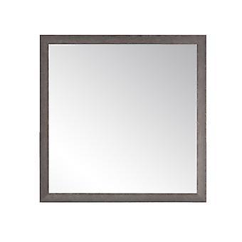 Charcoal Farmhouse Gray Square ou Diamond Wall Mirror 29.5'' X 29.5''
