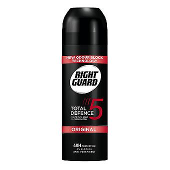 Right Guard 3 X Right Guard Total Defence Deodorant Aerosol For Men - Original