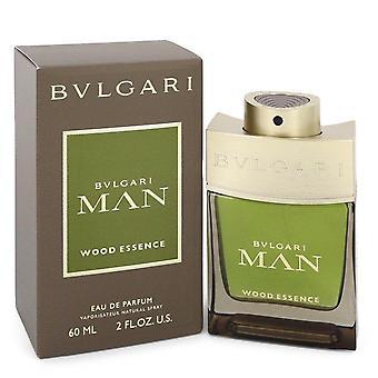 Bvlgari Man Wood Essence Eau De Parfum Спрей by Bvlgari 2 унции Парфюмерная вода Спрей