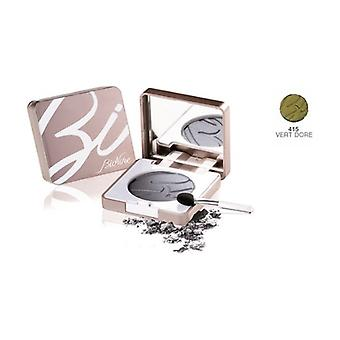 Defense Color Silky Touch Compact Eyeshadow 415 Golden Green 3 g
