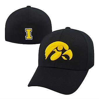 Iowa Hawkeyes NCAA TOW Black Premium Collection Memory Fit Hat