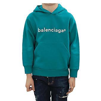 Balenciaga هودي كلاسيك الأخضر 558143TJVL84741 الأعلى