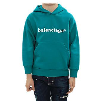 Balenciaga Hoodie Classic Green 558143TJVL84741 Top