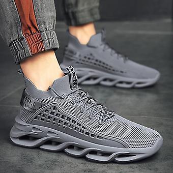 الرجال أزياء شبكة التنفس عارضة في الهواء الطلق المشي / الركض أحذية
