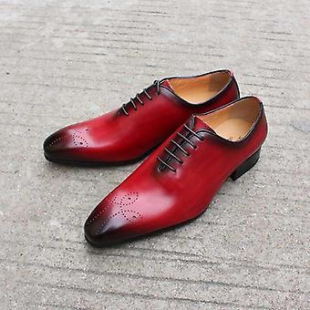 Pantofi de nuntă Menăs Genuine Leather Oxfords